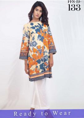 Fateh Printed Cambric Stitched Kurtis FT20PDF D-133