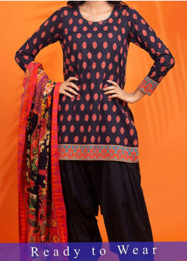Fateh Printed Cambric Stitched 3 Piece Suit FT20PDF D-615