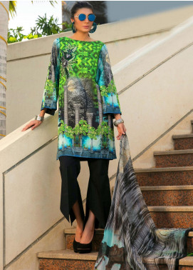 Fateh Embroidered Lawn Unstitched 3 Piece Suit FT19L FS-0133 - Mid Summer Collection