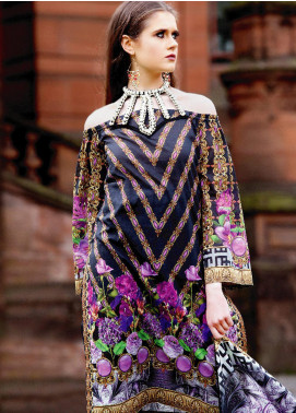 Fateh Printed Lawn Unstitched 2 Piece Suit FT19OR FS-0185 - Mid Summer Collection