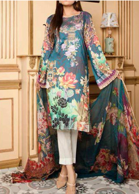 Fatiha by Zebaish Embroidered Linen Unstitched 3 Piece Suit ZSH20F 06 - Winter Collection