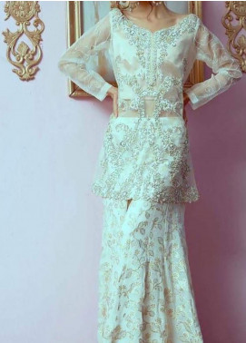 Fayon Embroidered Organza Stitched 2 Piece Suit FN-FK121 Alben