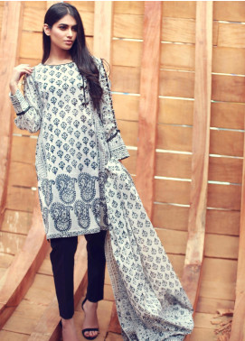 Zaibunnisa Formal Lawn Stitched 3 Piece Suit ZN Festival 01