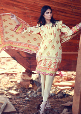Zaibunnisa Formal Lawn Stitched 3 Piece Suit ZN Festival 05