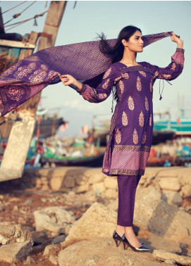 Zaibunnisa Formal Lawn Stitched 3 Piece Suit ZN Festival 06