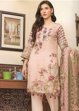 Firdous Fashion Embroidered Lawn Unstitched 3 Piece Suit FF18E 10A - Mid Summer Collection