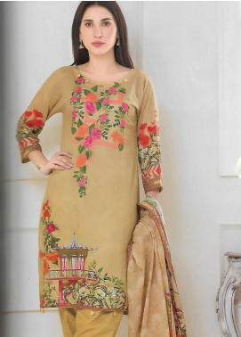 Firdous Fashion Embroidered Lawn Unstitched 3 Piece Suit FF18E 11A - Mid Summer Collection