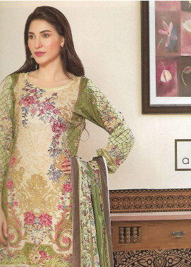 Firdous Fashion Embroidered Lawn Unstitched 3 Piece Suit FF18E 16A - Mid Summer Collection