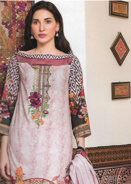 Firdous Fashion Embroidered Lawn Unstitched 3 Piece Suit FF18E 17A - Mid Summer Collection