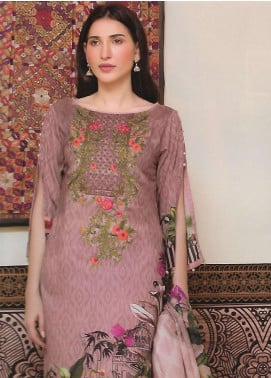 Firdous Fashion Embroidered Lawn Unstitched 3 Piece Suit FF18E 21B - Mid Summer Collection