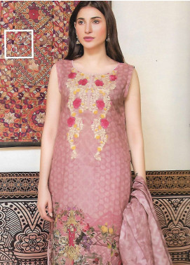 Firdous Fashion Embroidered Lawn Unstitched 3 Piece Suit FF18E 22A - Mid Summer Collection