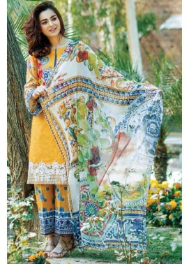 Firdous Fashion Embroidered Lawn Unstitched 3 Piece Suit FI17L 06