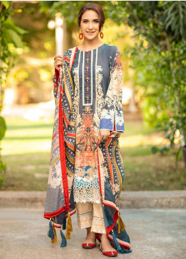 Fiore by Sheep Printed Lawn Unstitched 2 Piece Suit SH20F SL-007 - Spring / Summer Collection