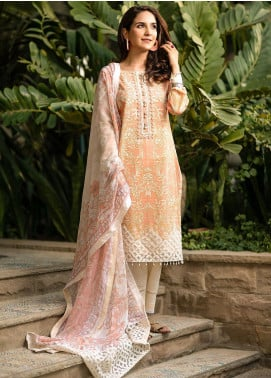 Fiore by Sheep Embroidered Lawn Unstitched 2 Piece Suit SH20F SL-010 - Spring / Summer Collection