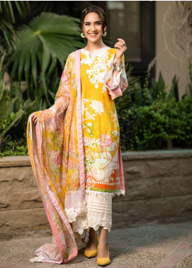 Fiore by Sheep Embroidered Lawn Unstitched 2 Piece Suit SH20F SL-011 - Spring / Summer Collection