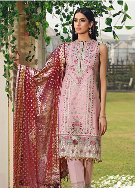 Firaaq by Anaya Embroidered Lawn Unstitched 3 Piece Suit F20AKC 02 Alayna - Luxury Collection