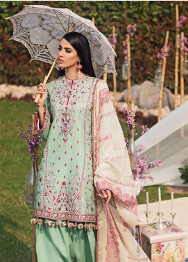 Firaaq by Anaya Embroidered Lawn Unstitched 3 Piece Suit F20AKC 03 Zayna - Luxury Collection