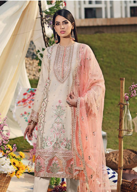 Firaaq by Anaya Embroidered Missouri Unstitched 3 Piece Suit F20AKC 04 Azra - Luxury Collection