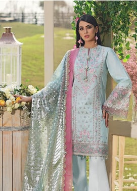 Firaaq by Anaya Embroidered Lawn Unstitched 3 Piece Suit F20AKC 05 Nisa - Luxury Collection