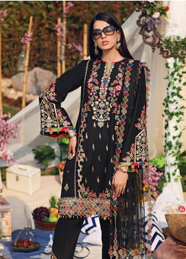 Firaaq by Anaya Embroidered Lawn Unstitched 3 Piece Suit F20AKC 10 Mahin - Luxury Collection