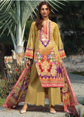 Firdous Fashion Printed Lawn Unstitched 3 Piece Suit FR20D 1106A - Spring / Summer Collection