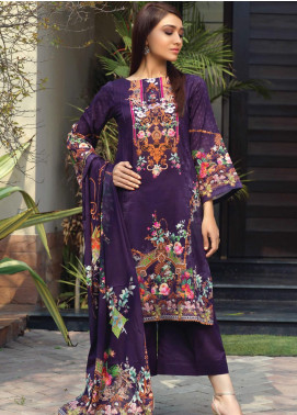 Firdous Fashion Printed Lawn Unstitched 3 Piece Suit FR20D 1127B - Spring / Summer Collection