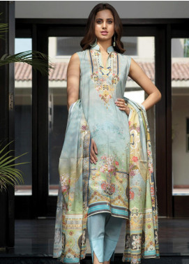 Firdous Fashion Printed Lawn Unstitched 3 Piece Suit FR20D 1131A - Spring / Summer Collection