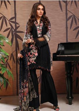 Firdous Fashion Embroidered Schiffli Unstitched 3 Piece Suit FR20SC 1206 - Festive Collection