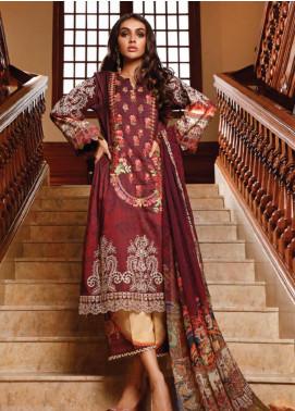 Firdous Fashion Embroidered Schiffli Unstitched 3 Piece Suit FR20SC 1208 - Festive Collection