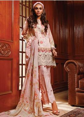 Firdous Fashion Embroidered Schiffli Unstitched 3 Piece Suit FR20SC 1210 - Festive Collection