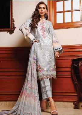Firdous Fashion Embroidered Schiffli Unstitched 3 Piece Suit FR20SC 1212 - Festive Collection