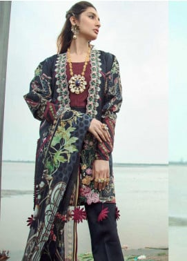 Firdous Fashion Embroidered Lawn Unstitched 3 Piece Suit FR20LS 19525 - Luxury Collection