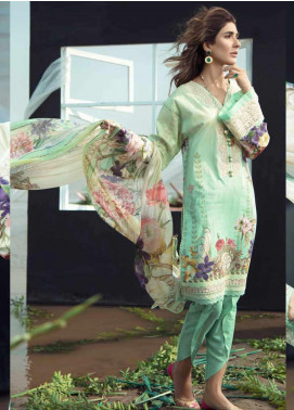 Firdous Fashion Embroidered Lawn Unstitched 3 Piece Suit FR20LS 19531 - Luxury Collection