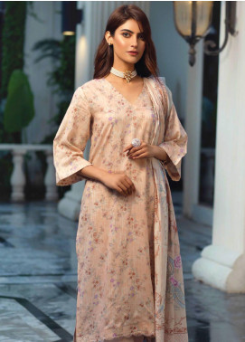 Firdous Fashion Printed Lawn Unstitched 3 Piece Suit FR20L-2 705A - Spring / Summer Collection