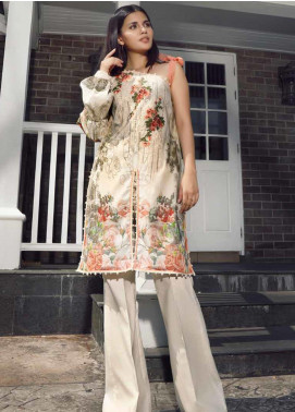 Firdous Fashion Embroidered Cotton Unstitched Kurties FR20SP 19380 - Spring / Summer Collection