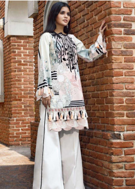 Firdous Fashion Embroidered Cotton Unstitched Kurties FR20SP 19381 - Spring / Summer Collection