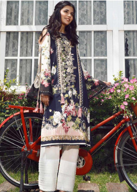 Firdous Fashion Embroidered Cotton Unstitched Kurties FR20SP 19383 - Spring / Summer Collection