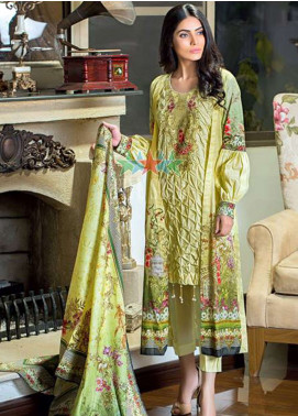 Five Star Printed Lawn Unstitched 3 Piece Suit FSD19L 1304 - Spring / Summer Collection