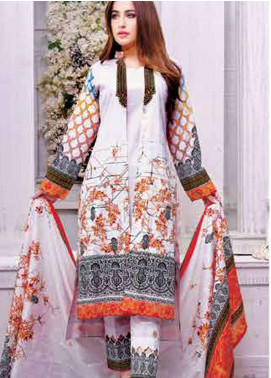 Five Star Printed Lawn Unstitched 3 Piece Suit FS19L 1203C - Spring / Summer Collection