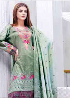 Five Star Printed Lawn Unstitched 3 Piece Suit FS19L 1207A - Spring / Summer Collection