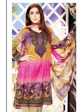 Five Star Printed Lawn Unstitched 3 Piece Suit FS19L 1218C - Spring / Summer Collection