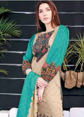 Five Star Printed Lawn Unstitched 3 Piece Suit FS19L 1220C - Spring / Summer Collection