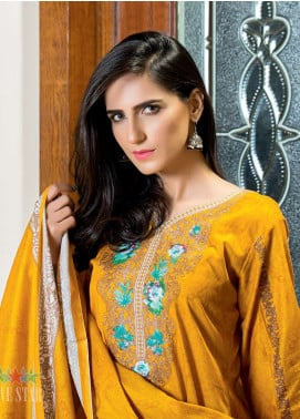 Five Star Printed Lawn Unstitched 3 Piece Suit FS19-L2 1235A - Spring / Summer Collection