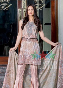 Five Star Printed Lawn Unstitched 3 Piece Suit FS19-L2 1240A - Spring / Summer Collection
