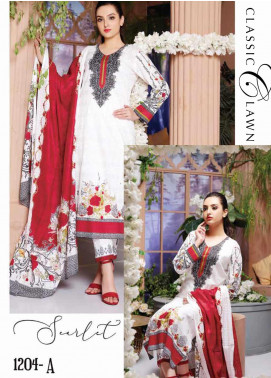 Five Star Printed Lawn Unstitched 3 Piece Suit FS20CL-1 1204A - Spring / Summer Collection