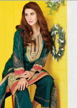 Five Star Printed Lawn Unstitched 3 Piece Suit FS20CL-1 1205C - Spring / Summer Collection