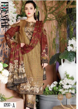 Five Star Printed Lawn Unstitched 3 Piece Suit FS20CL-1 1207A - Spring / Summer Collection