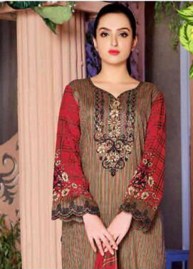 Five Star Printed Lawn Unstitched 3 Piece Suit FS20CL-1 1207C - Spring / Summer Collection