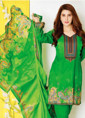 Five Star Printed Lawn Unstitched 3 Piece Suit FS20CL-1 1209C - Spring / Summer Collection