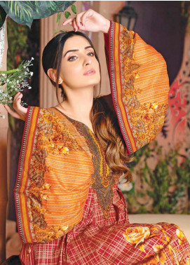 Five Star Printed Lawn Unstitched 3 Piece Suit FS20CL-1 1210C - Spring / Summer Collection